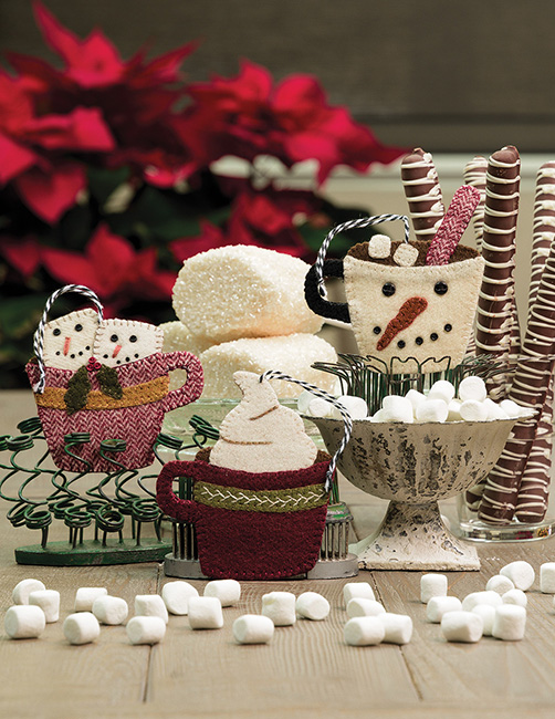 B1548, Buttermilk Basin's Ornament Extravaganza - 45 Easy-to-Stitch Designs!