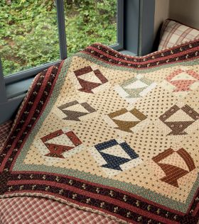 A Prairie Journey, Small Quilts That Celebrate Pioneer Spirit, by Kathleen Tracy