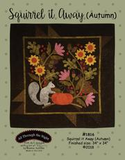 ATN1816, Pattern, Squirrel it away (Autumn) by Bonnie Sullivan (English)