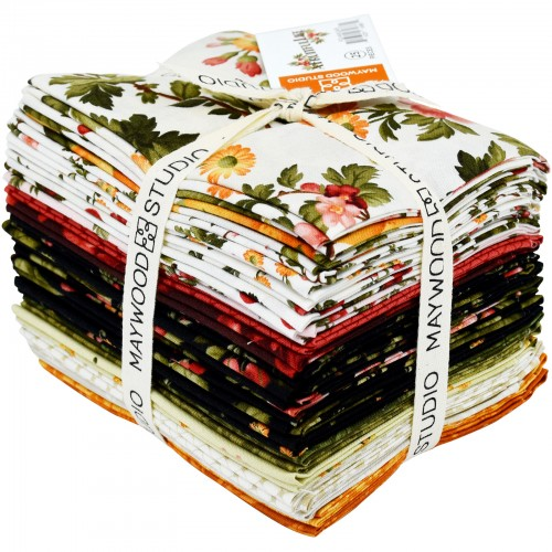 A Fruitful Life, Fat Quarter Bundle (25 pcs) by Maywood Studio